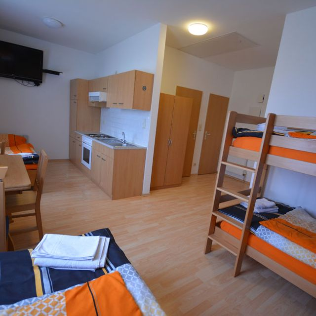 Appartement mit Stockbett